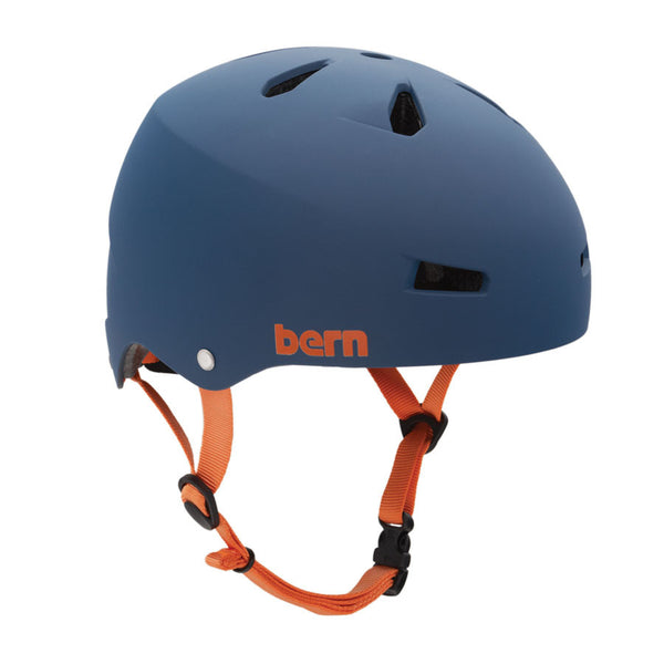 Bern Macon Hardhat Brock Foam - Matte Blue - Helmet - Small