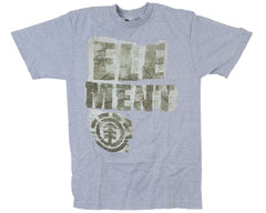 Element Buffer S/S - Heather Grey - Men's T-Shirt