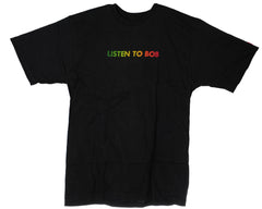 Element Listen S/S - Black - Men's T-Shirt