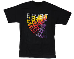 Element Rotate S/S - Black - Men's T-Shirt
