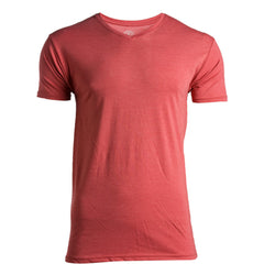 Element Woodridge Vneck - Red - Mens T-Shirt