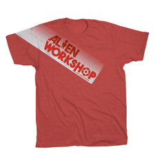 Alien Workshop Filmworks Fade - Red Heather - Men's T-Shirt