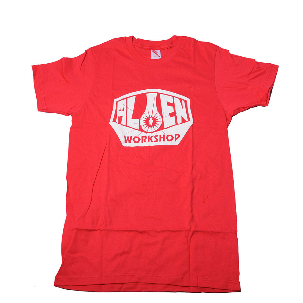 Alien Workshop OG Logo - Red - Men's T-Shirt