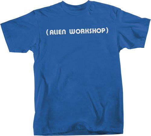Alien Workshop Parenthesis Short Sleeve - Royal - Men's T-Shirt