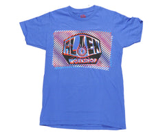 Alien Workshop Interlaced Short Sleeve - Royal - Men's T-Shirt
