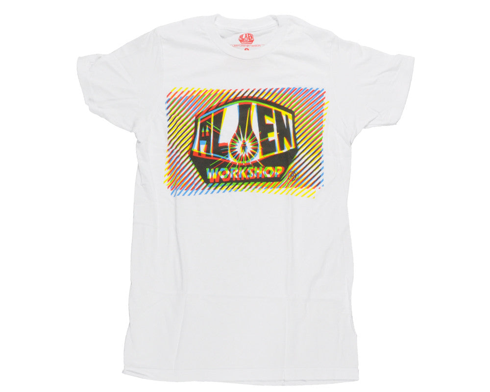 Alien Workshop Interlaced Short Sleeve - White - Men's T-Shirt