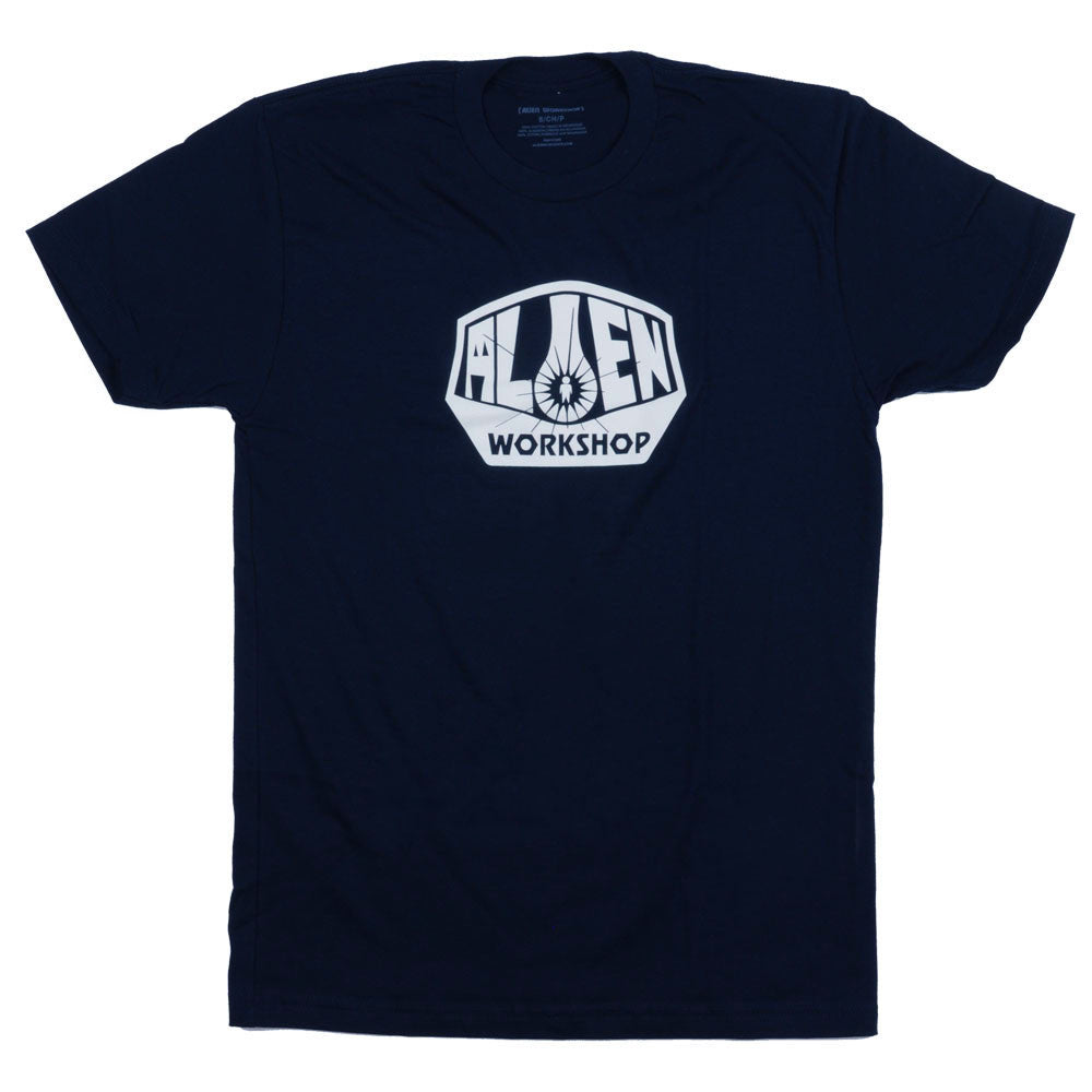 Alien Workshop OG Logo Short Sleeve - Navy - Men's T-Shirt