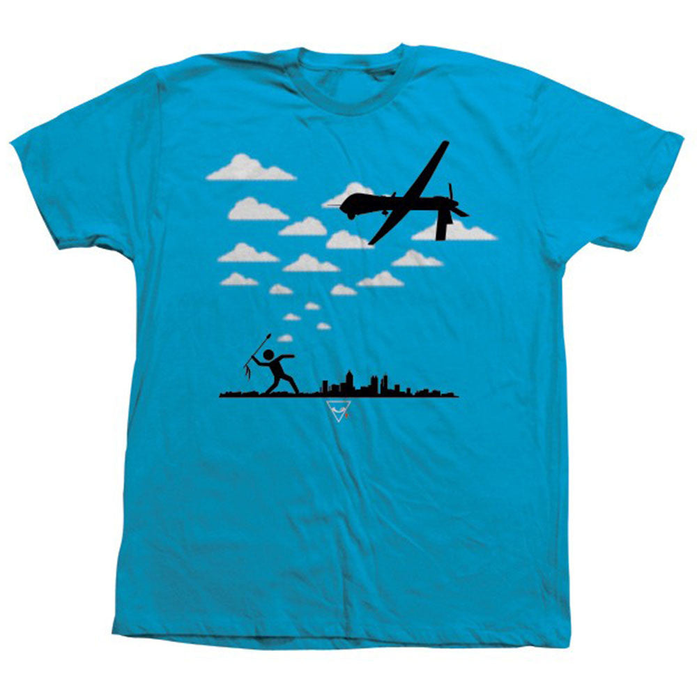 Alien Workshop By All Means Drone S/S - Blue - Men's T-Shirt
