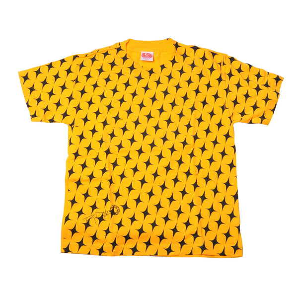 Alien Workshop Star - Black/ Yellow - Youth T-Shirt - Youth Small