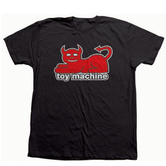 Toy Machine Devil Cat - Black - Men's T-Shirt