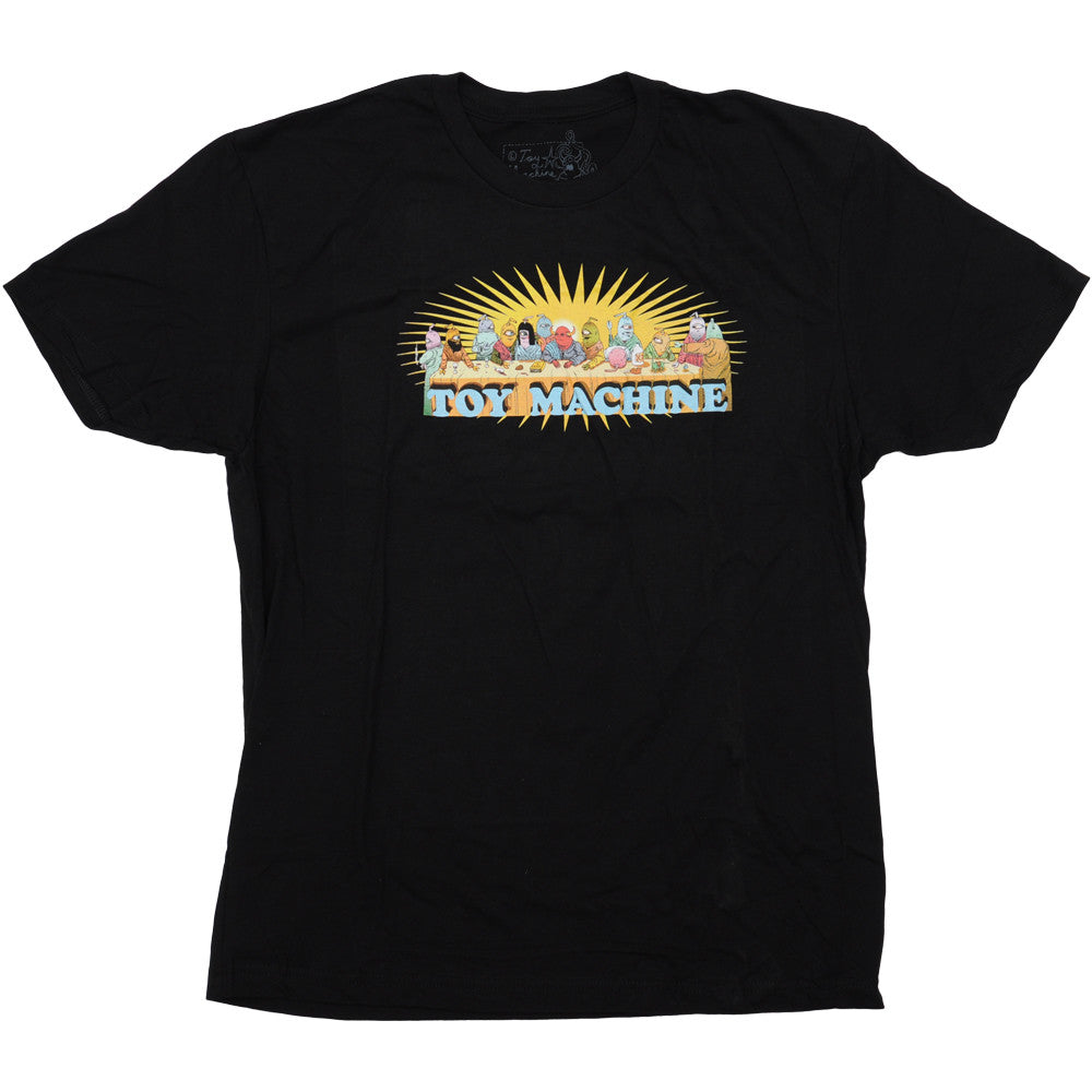 Toy Machine Last Supper - Black - Men's T-Shirt