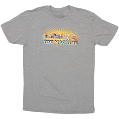 Toy Machine Last Supper - Heather Grey - Men's T-Shirt