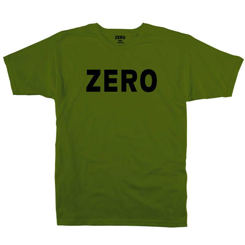 Zero Army S/S - Army - Men's T-Shirt