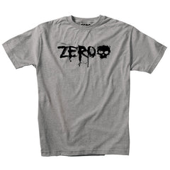 Zero Blood S/S - Heather Grey/Black - Men's T-Shirt