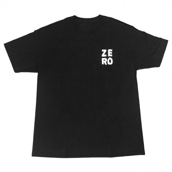 Zero Numero S/S - Black/White - Men's T-Shirt
