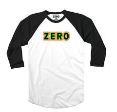 Zero Rasta Bold Jersey - White/Black - Men's T-Shirt