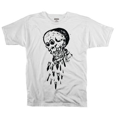 Zero Skateistan Bombs S/S - White - Men's T-Shirt