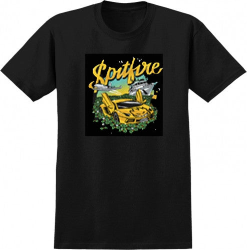 Spitfire Billionaire S/S - Black - Men's T-Shirt