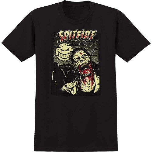 Spitfire Undead 2 S/S - Black - Men's T-Shirt