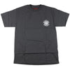 Spitfire Classic Pocket S/S - Charcoal/White - Men's T-Shirt