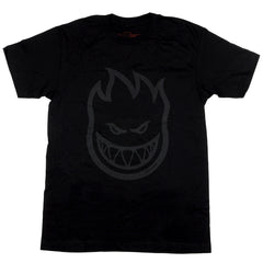 Spitfire Bighead S/S - Black/Reflective - Men's T-Shirt