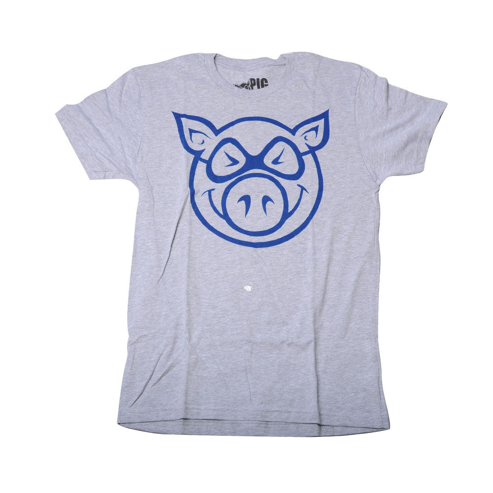 Pig Basic Tee - Grey - Men's T-Shirt