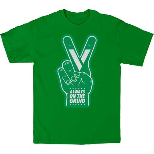 Venture S/S Foam Hand - Kelly Green - Men's T-Shirt