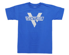 Venture Wildstyle - Royal/Grey - Men's T-Shirt