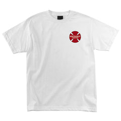 Independent Hosoi Sun Regular S/S - White - Mens T-Shirt