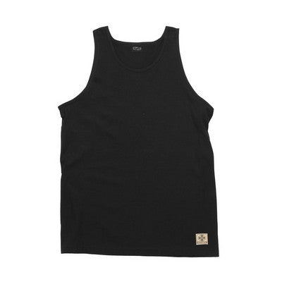 Independent NBT Regular Fit Tank - Black - Mens T-Shirt