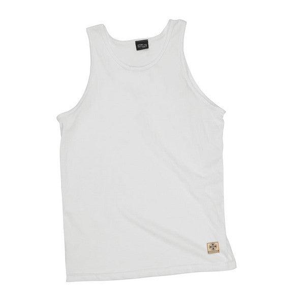 Independent NBT Regular Fit Tank - White - Mens T-Shirt