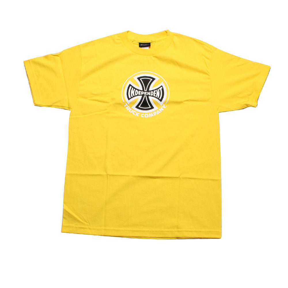 Independent Truck Co Regular S/S - Yellow - Men's T-Shirt