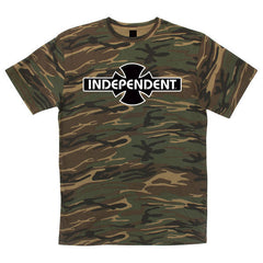 Independent O.G.B.C. Regular S/S - Camouflage Green - Mens T-Shirt