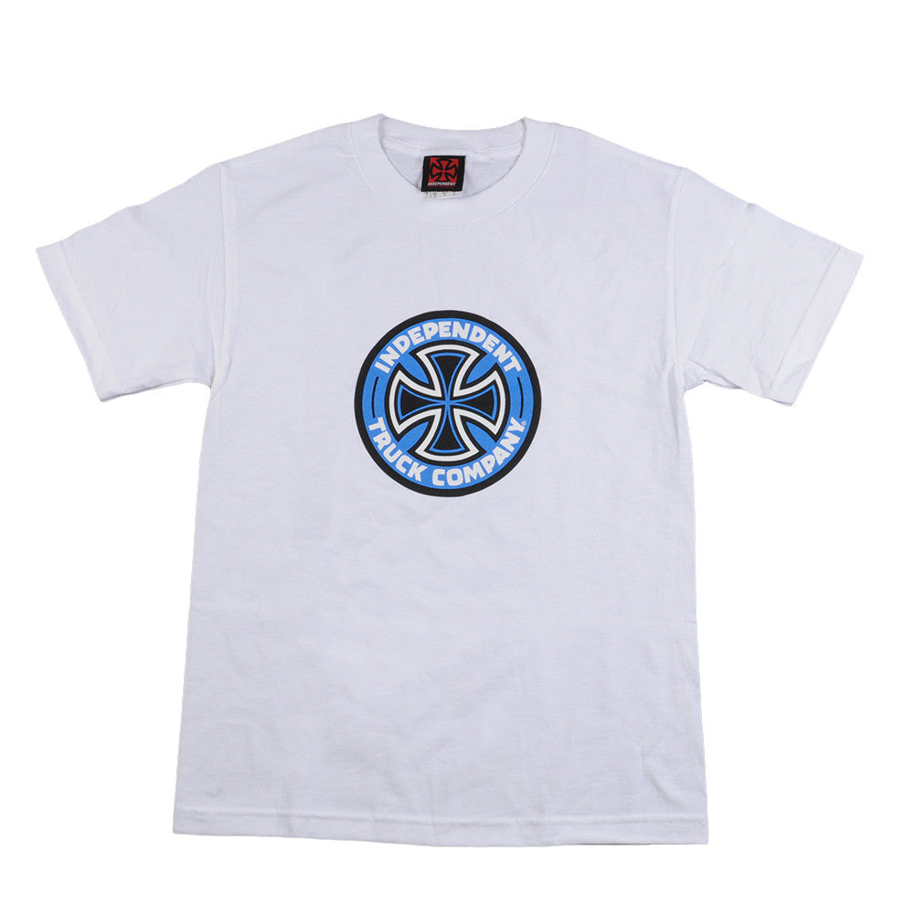 Independent Colored T/C Regular S/S - White - Mens T-Shirt