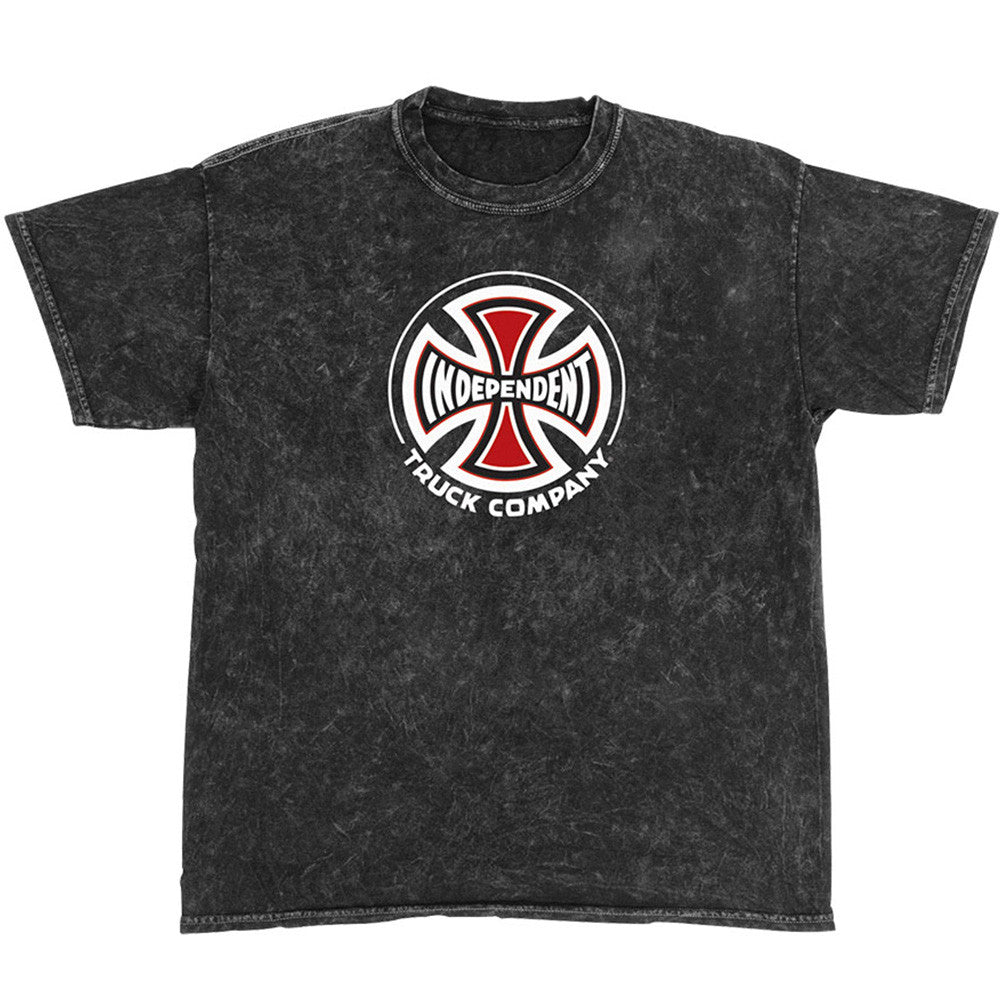 Independent Truck Co Regular S/S - Mineral Black - Men's T-Shirt