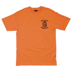 Independent Badge Regular S/S - Orange - Men's T-Shirt