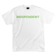 Independent Lines Regular S/S - White - Men's T-Shirt