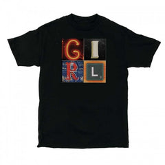 Girl Signs - Black - Men's T-Shirt