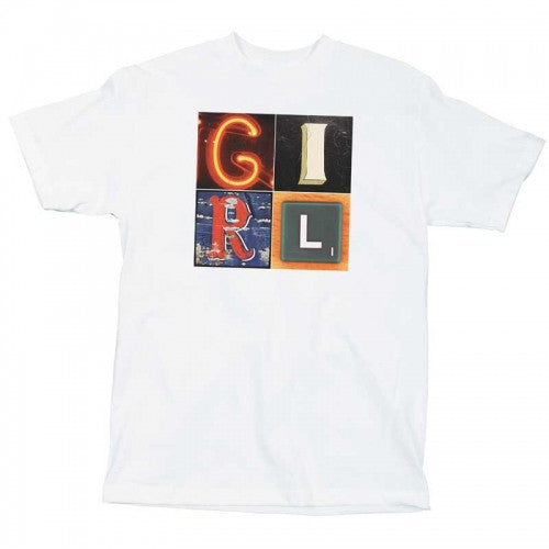 Girl Signs - White - Men's T-Shirt