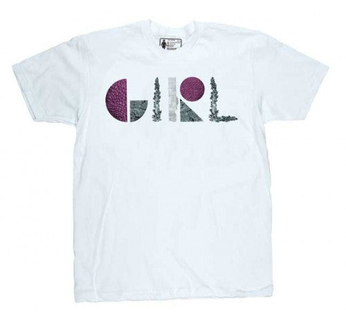 Girl Forest Premium - White - Men's T-Shirt