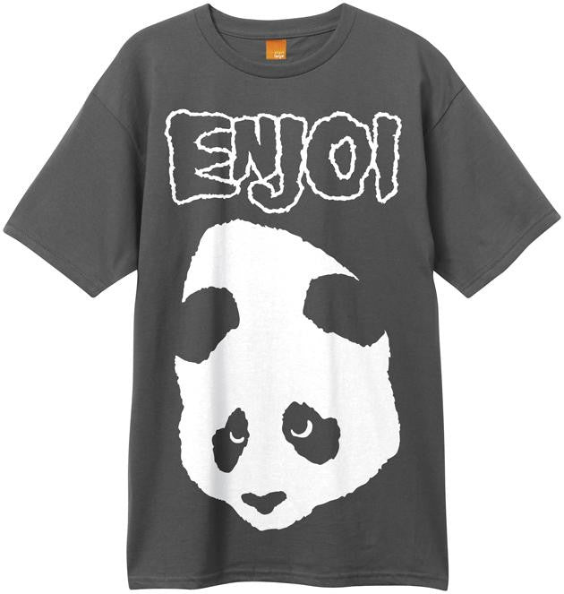 Enjoi Punk Doesn't Fit S/S - Charcoal - Men's T-Shirt
