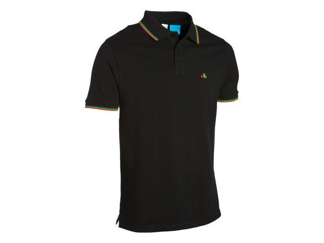 Enjoi Special Color S/S Polo - Black - Men's T-Shirt