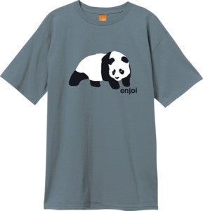 Enjoi Original Panda S/S - Slate - Men's T-Shirt