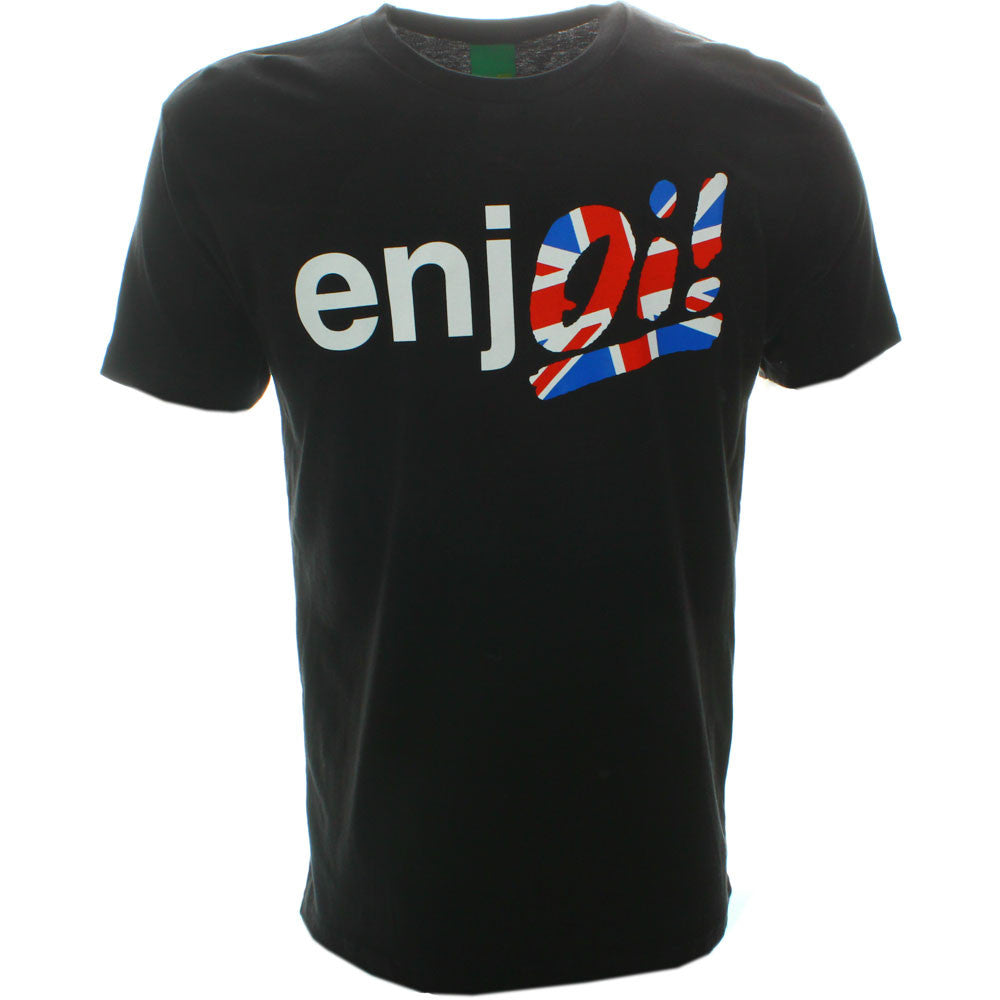 Enjoi Oi! Premium S/S - Black - Men's T-Shirt