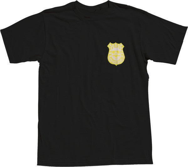 Enjoi Pig Badge S/S - Black - Men's T-Shirt