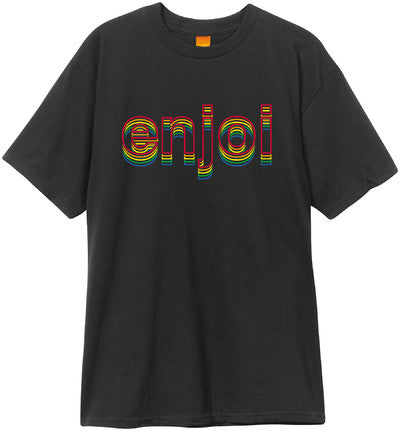 Enjoi Outline S/S - Black - Men's T-Shirt