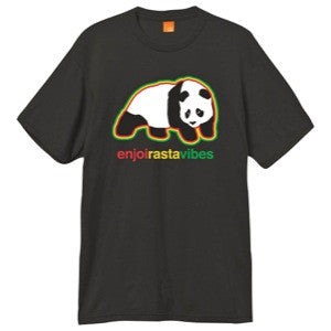 Enjoi Rasta Vibes S/S - Black - Men's T-Shirt