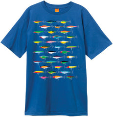 Enjoi Lures Premium S/S - Royal Blue - Men's T-Shirt