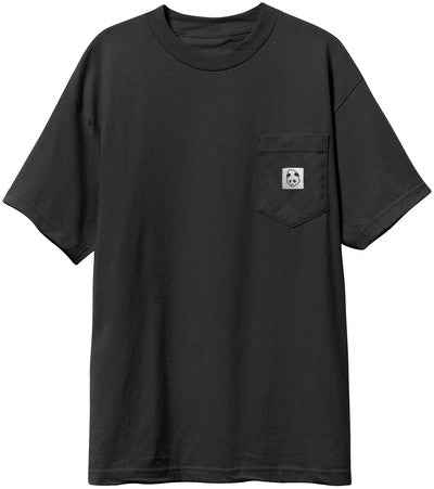 Enjoi Squarehead Custom Pocket - Black - Men's T-Shirt