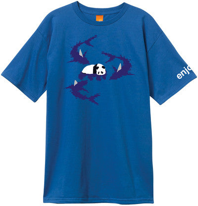 Enjoi Shark! Premium S/S - Royal Blue - Men's T-Shirt